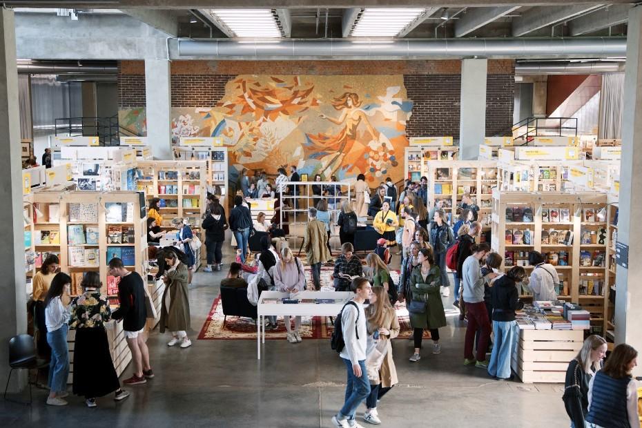 5-я книжная ярмарка GARAGE ART BOOK FAIR и10-й маркет ручной ипечатной графики «ВКУС БУМАГИ»