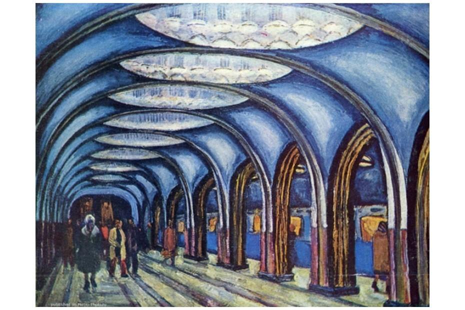 Open-call выставки про метро впереходе «Пушкинская»— «Тверская»