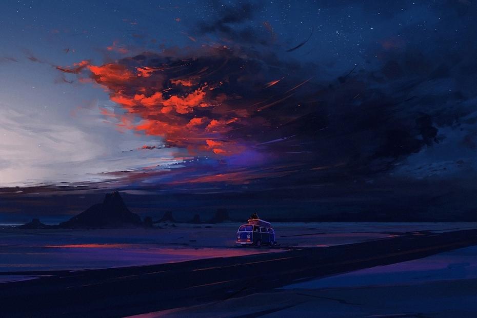 Pixarra's «Sky»