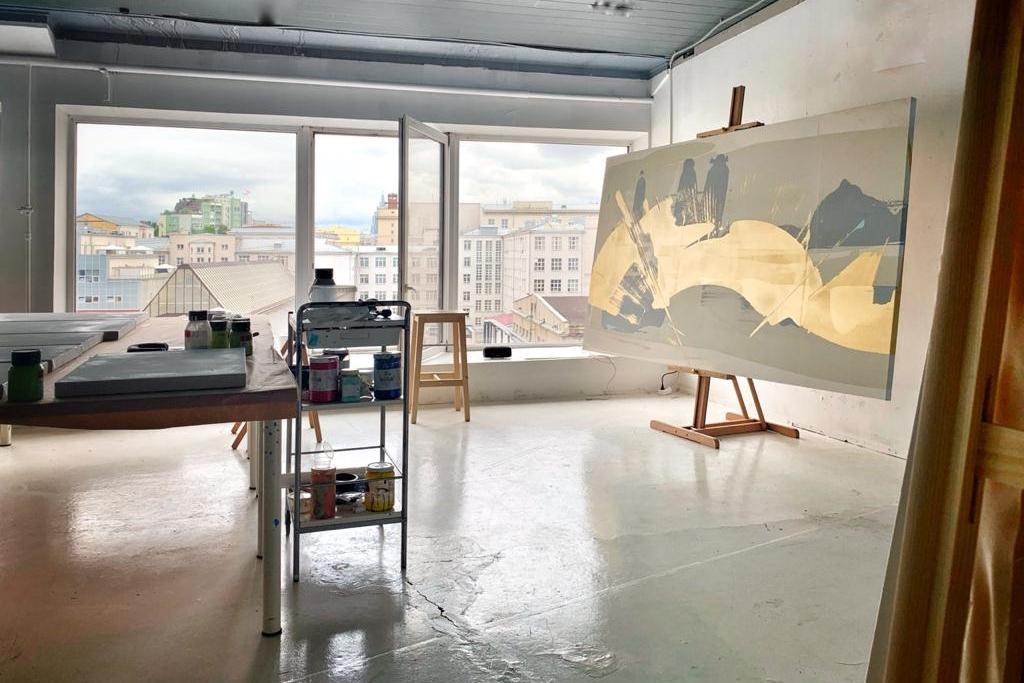 Мастерские истудии для художников отпроекта Art-Space-Hopping