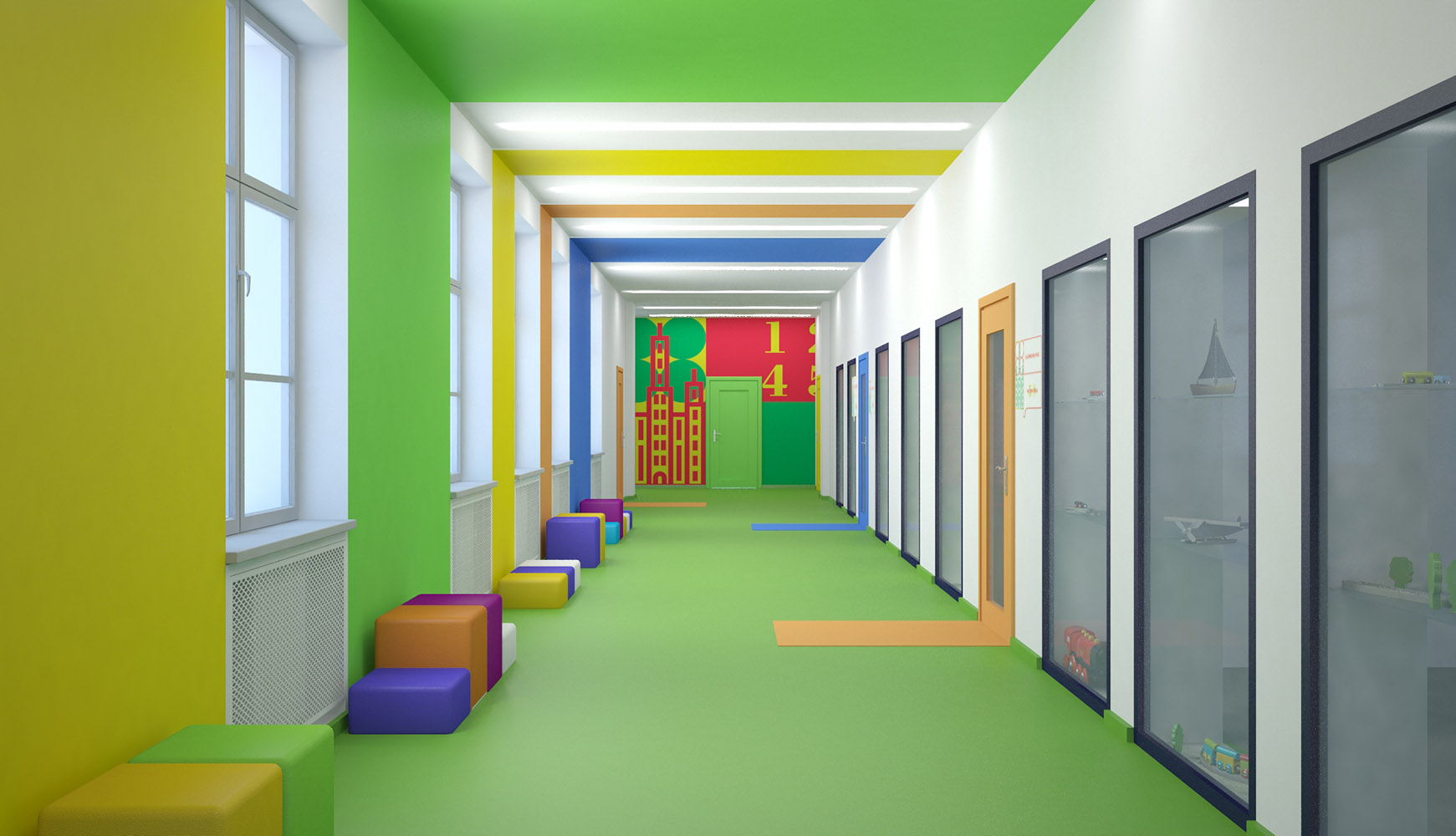 Дизайн школы с