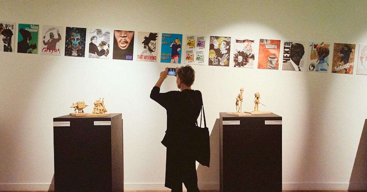 Выставка Школы дизайна вЦДХ
