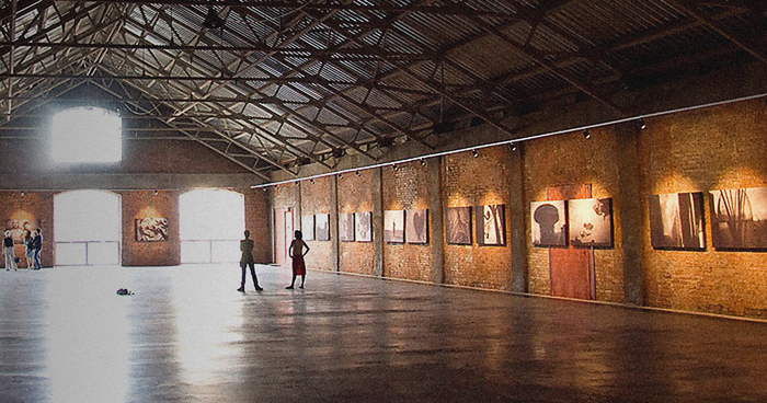 Выставка Школы дизайна наВинзаводе