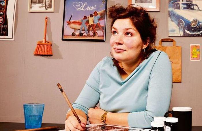 Видео: встреча схудожницей-иллюстратором Флоор Ридер (Нидерланды)