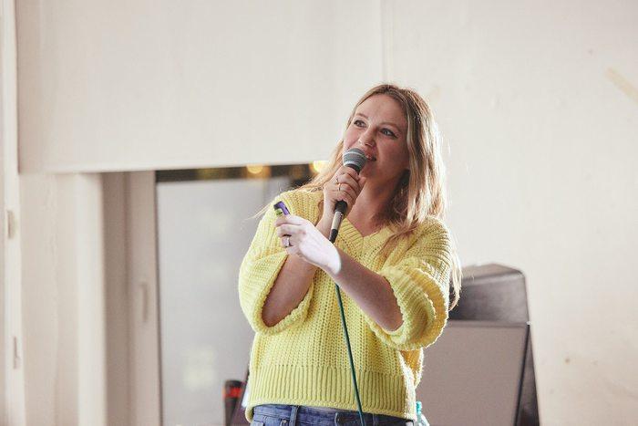 Видео: выступление дизайнера одежды Анастасии Янсэтер (Швеция)