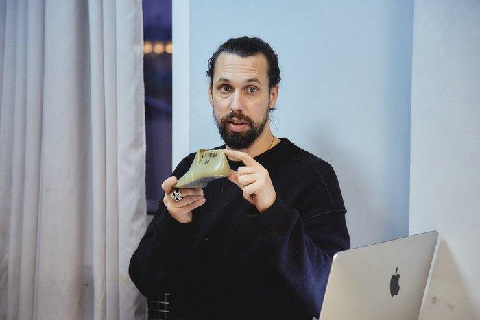 Лекция иворкшоп «Анатомия обувного дизайна» Илко Мурера