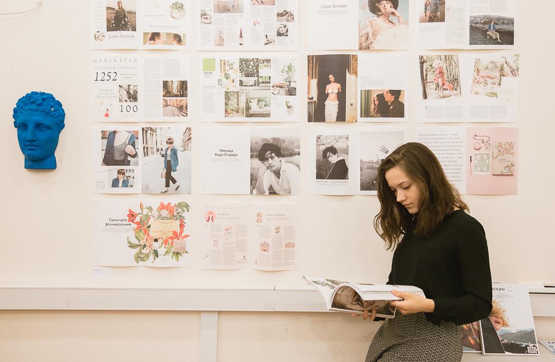 Открытые просмотры студенческих работ вШколе дизайна