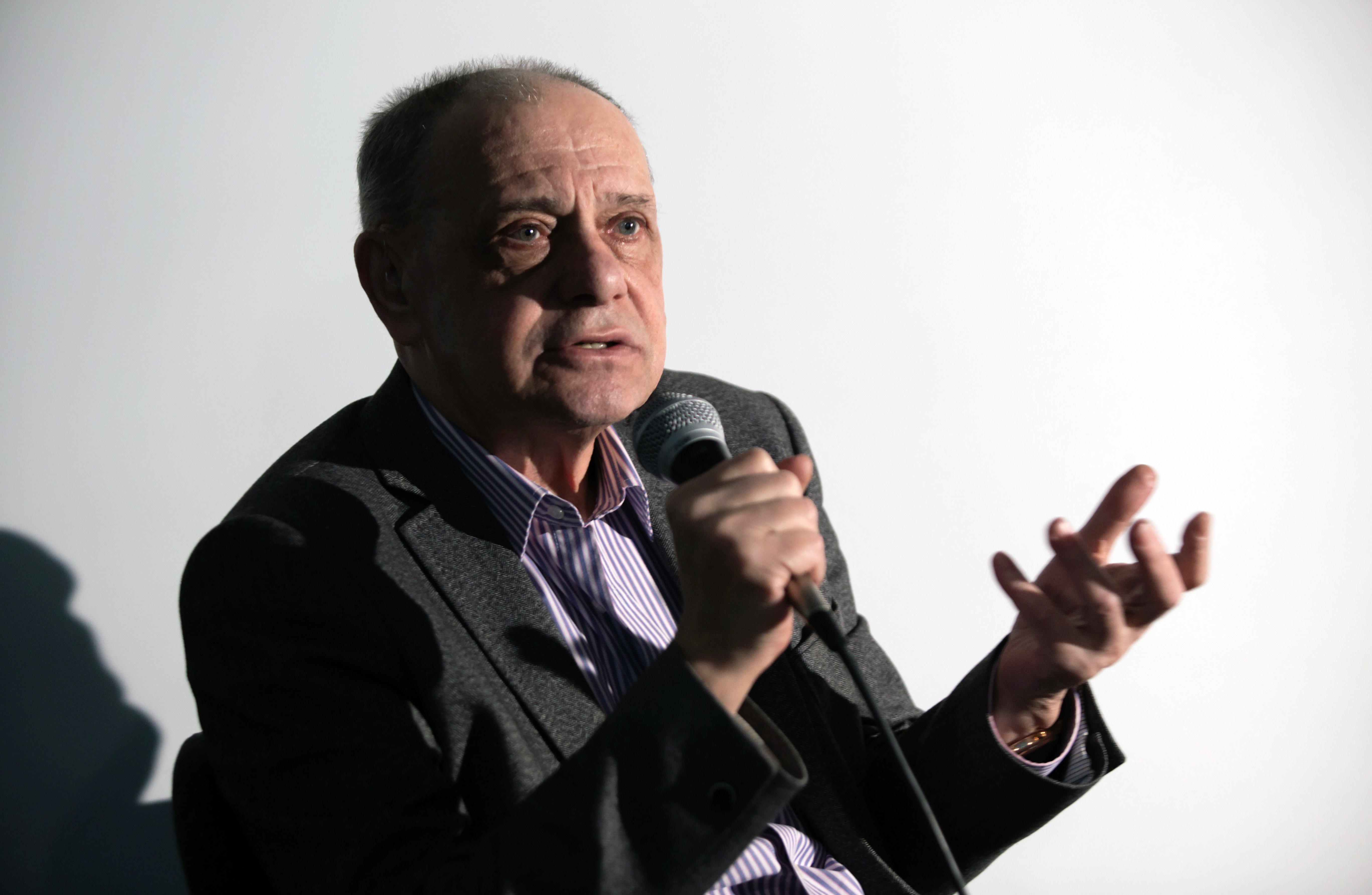 Видео: встреча смультипликатором Гарри Бардиным