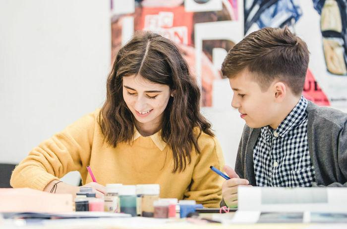 Старт занятий вДетской школе дизайна НИУ ВШЭ