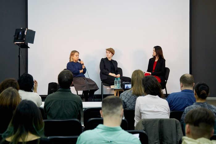 Видео: Открытая дискуссия cМаргаритой Пушкиной иАнной Наумовой вШколе дизайна
