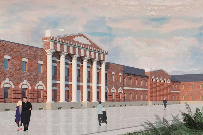 Студенты направления «Дизайн среды» разработали проект сохранения фабрики Ягужинского