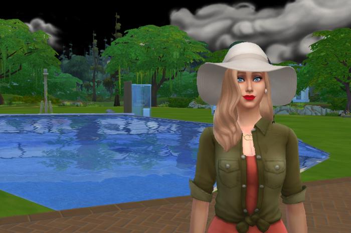 Sims-cпектакль «Бассейн»