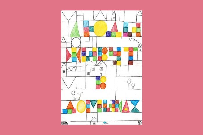 Студенты Школы дизайна сделали плакаты для детского интерната