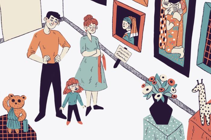 Сборник комиксов обизоляции студентов Школы дизайна