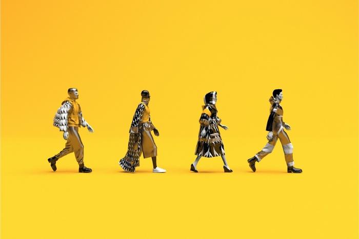 Студентка Школы дизайна создала свой бренд цифровой одежды для трудоголиков Non-flam