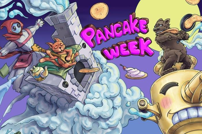 Игры студентов направления «Гейм-дизайн ивиртуальная реальность» нафестивале «Pancake Week» вSteam