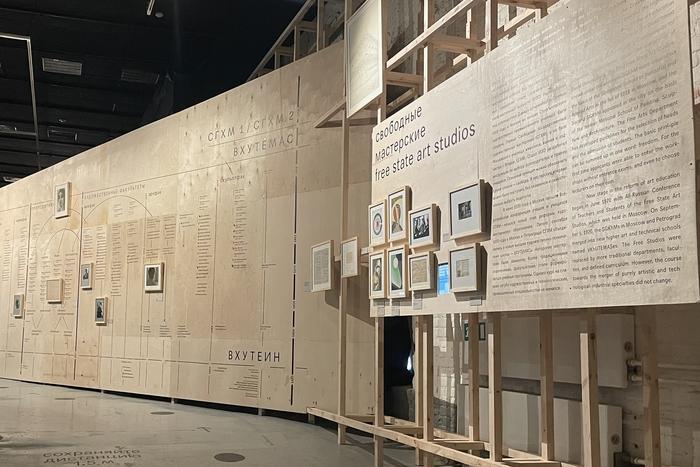 Семинар группы Место искусства «Таймлайн как вопрос выставочного диспозитива»