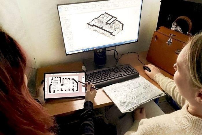 Студенты Школы дизайна создадут концепцию реновации библиотекиим. Трифонова