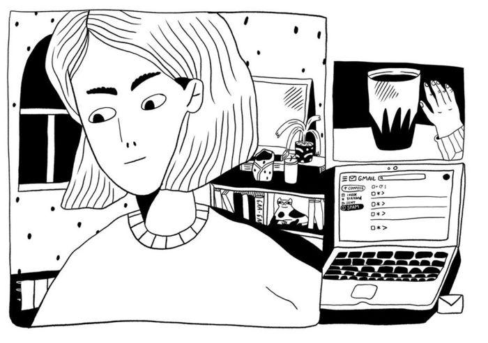 Комикс «Пять историй, вкоторых мывсе оказались взаперти» отПолины Парыгиной