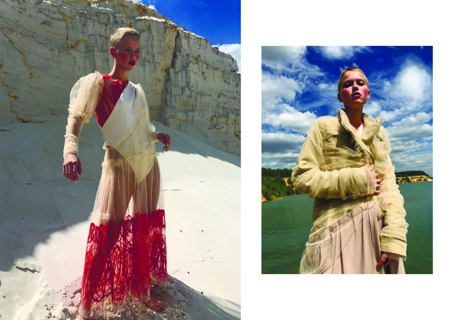 Полина Кочиева. Бакалавриат. Работа за3курс. «Устойчивая мода» (проект врамках коллаборации Школы дизайна вUNIQLO)