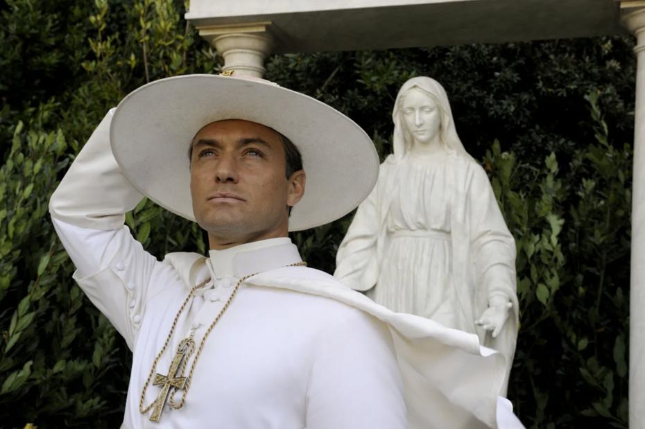 Кадр изсериала «Молодой папа»