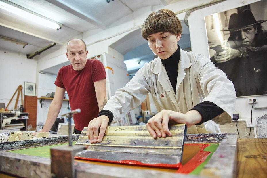 Стажировки вмастерских Школы дизайна