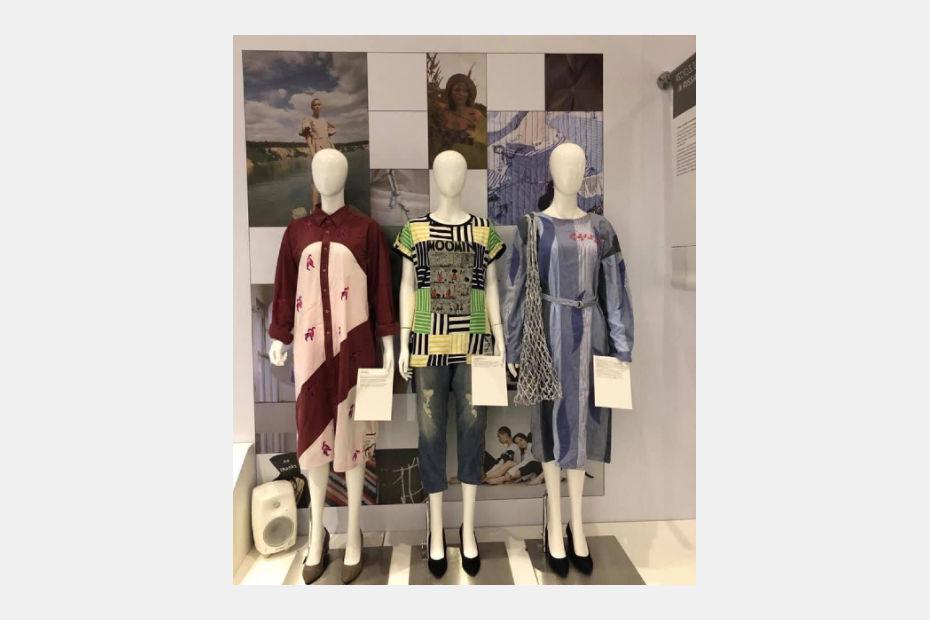 Работы студентов Школы дизайна на выставке в рамках недели моды в Лондоне