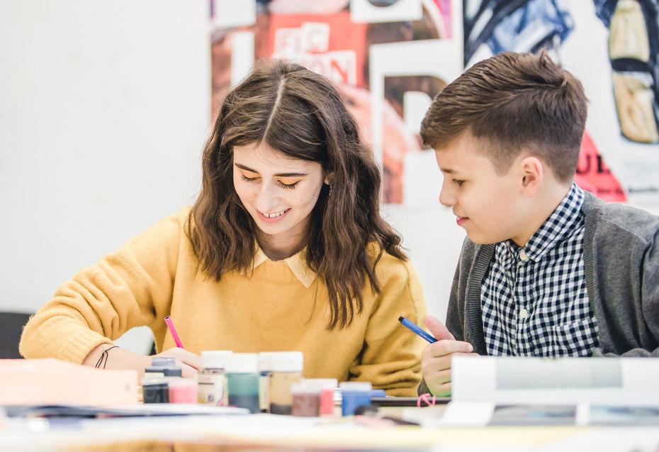 Старт занятий в Детской школе дизайна НИУ ВШЭ