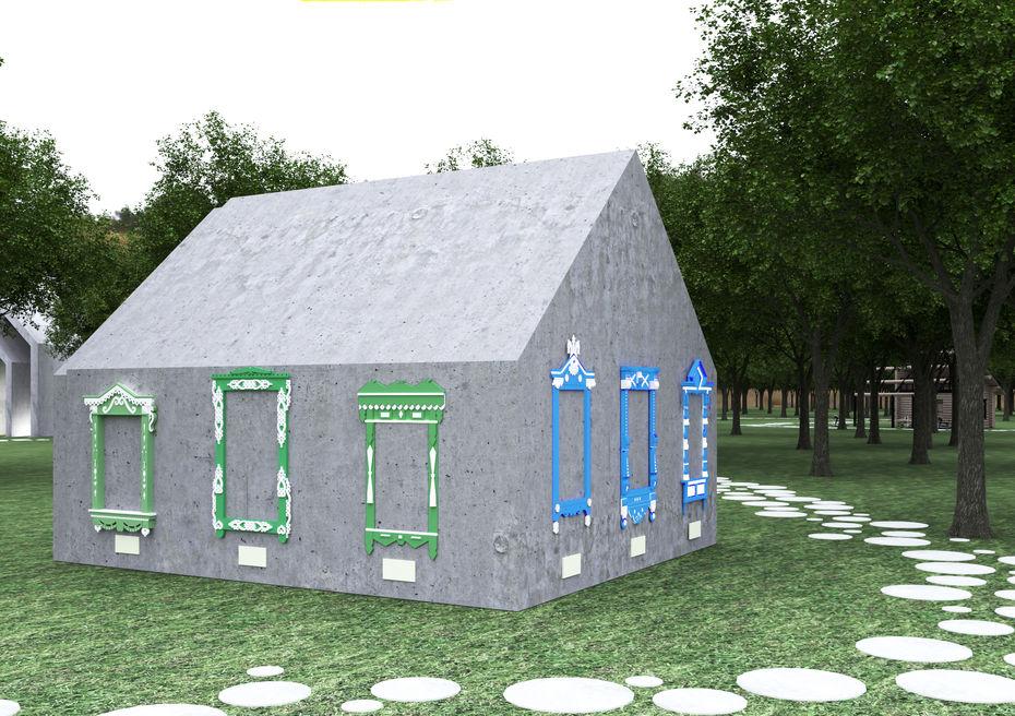 Студентки Школы дизайна разработали концепцию этнопарка