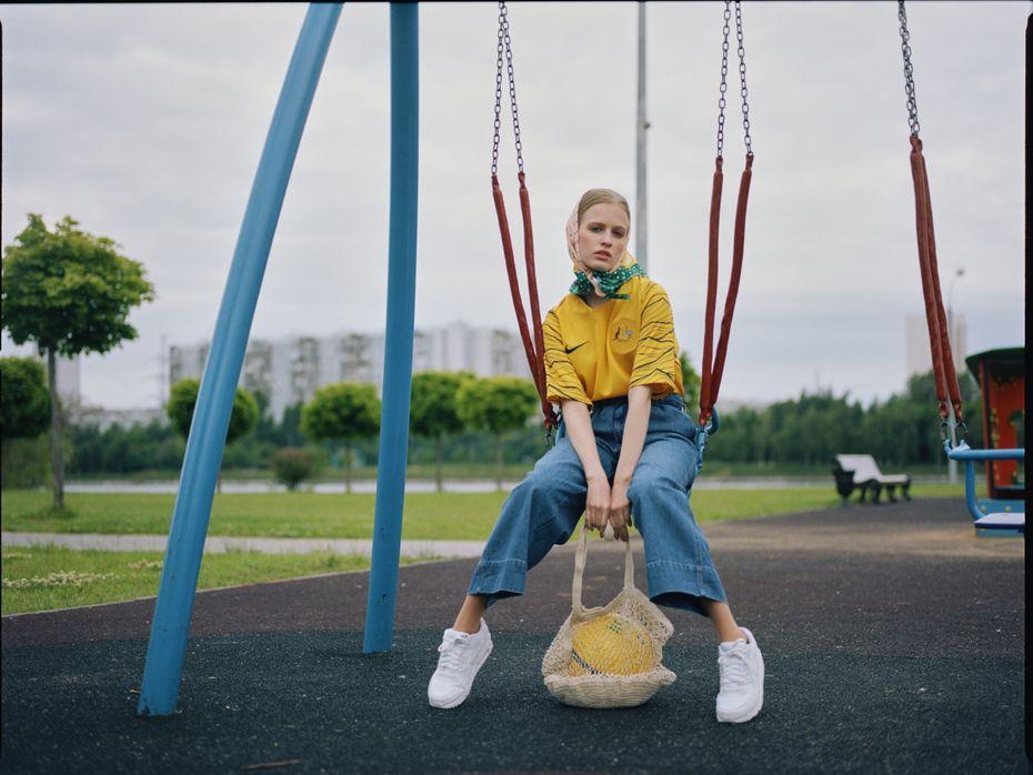 Даниил Костышин, Елена Пичугина, Инна Провоторова. Бакалавриат. Работа за2курс. «Nike Jersey»