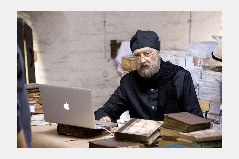 Кадр изфильма «Борис Годунов». Режиссер Владимир Мирзоев