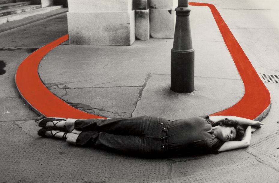 Вали Экспорт— Делая круг, 1976. ART TODAY