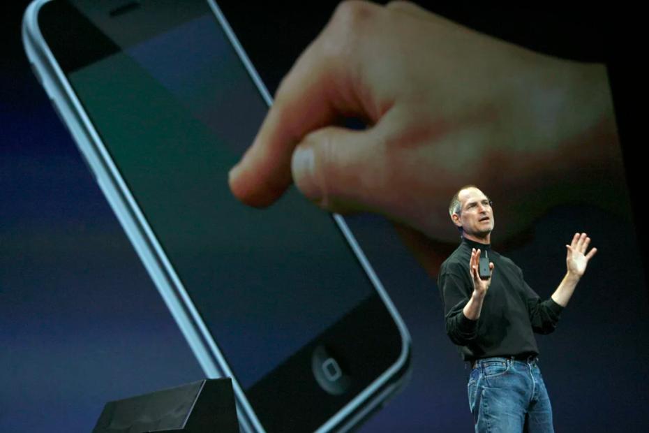 Стив Джобс — американский предприниматель, один из основателей компаний Apple и Pixar