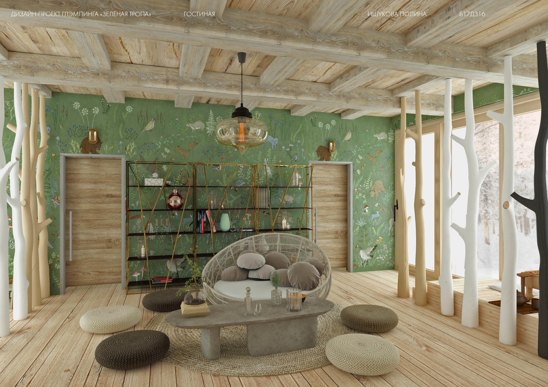 Лаборатория дизайна ВШЭ в успешно завершила проект развития и дизайна среды Глэмпинга «Зеленая Тропа» -hsedesignlab.ru