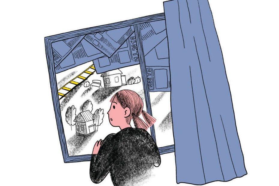 Иллюстрация Анны Ильиной, текст «Омаме»