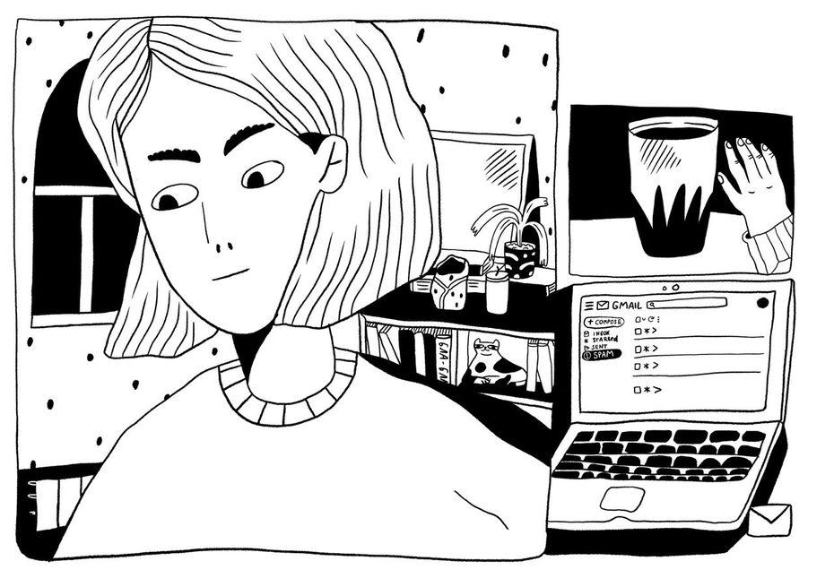 Комикс «Пять историй, в которых мы все оказались взаперти» от выпускницы Школы дизайна