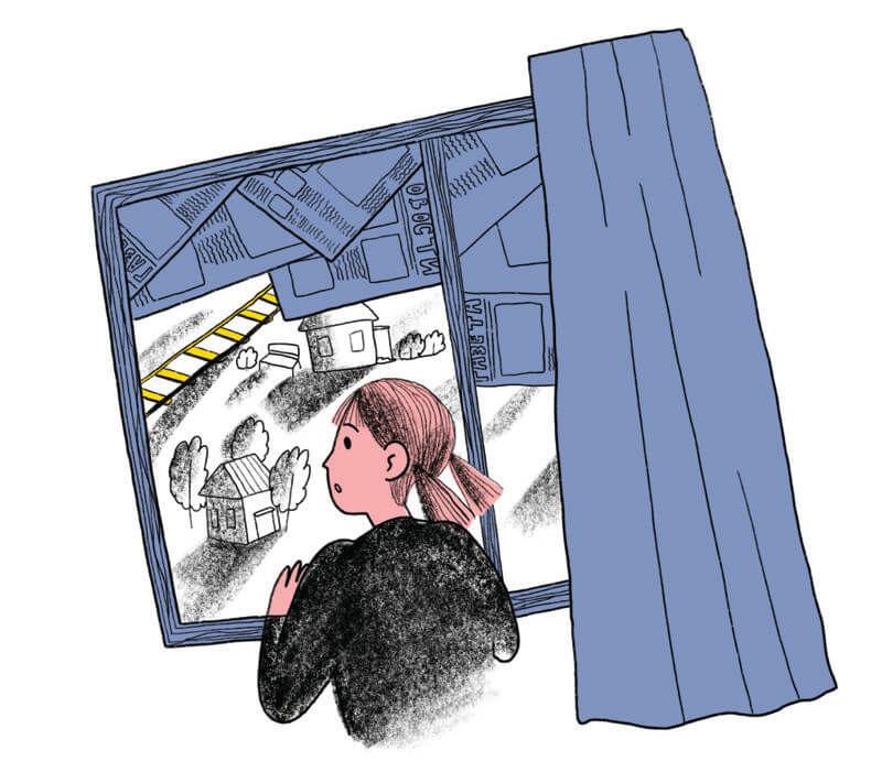 Иллюстрации рассказов овойне