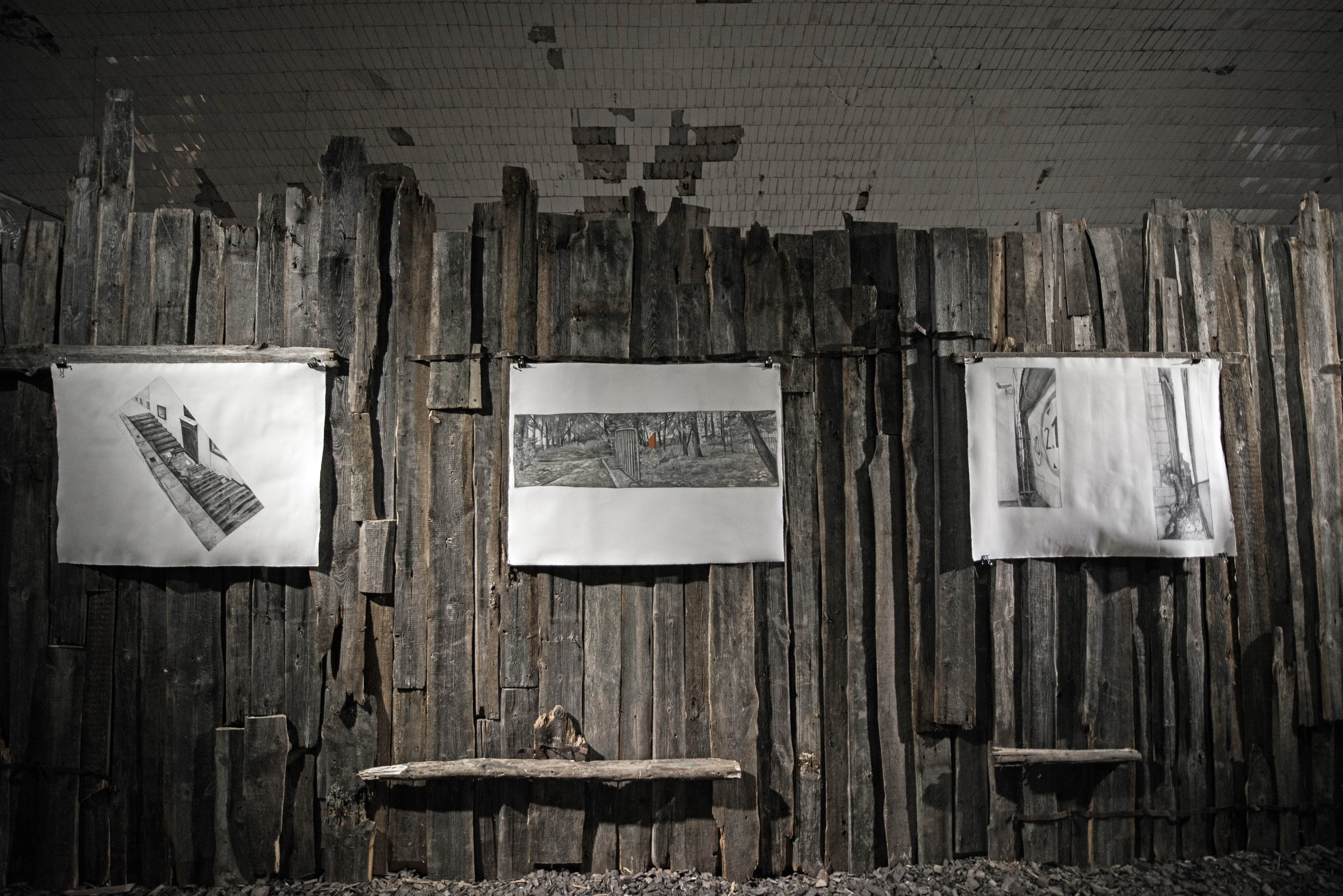 Проект «Складки», Биеннале уличного искусства «Артмоссфера», Винзавод, 2018