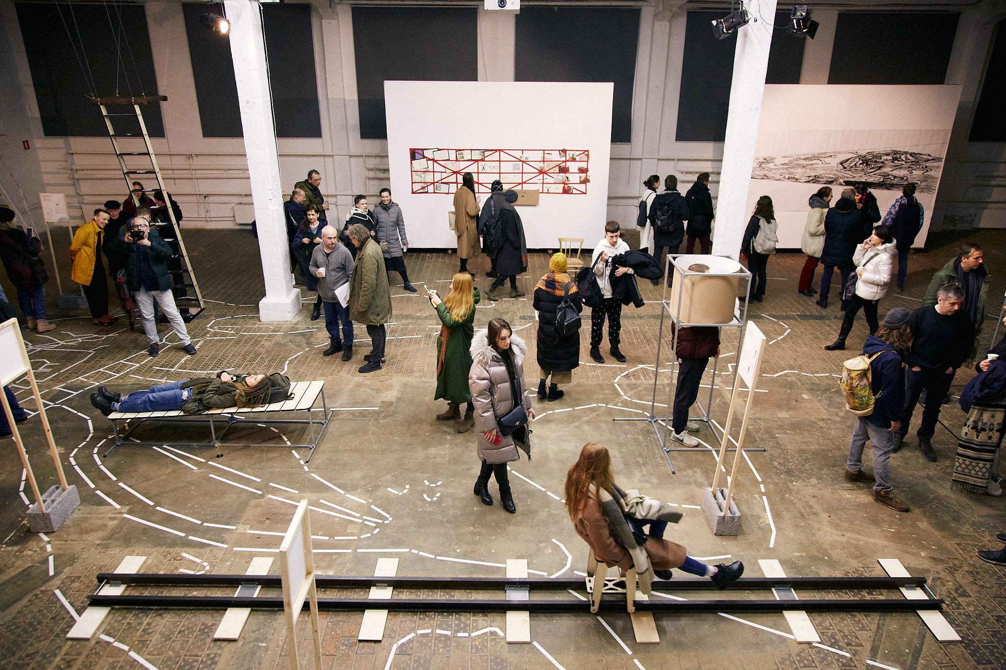 Выставка «Чем больше мысозерцаем, тем меньше мыживем», ЦТИ «Фабрика», 2020