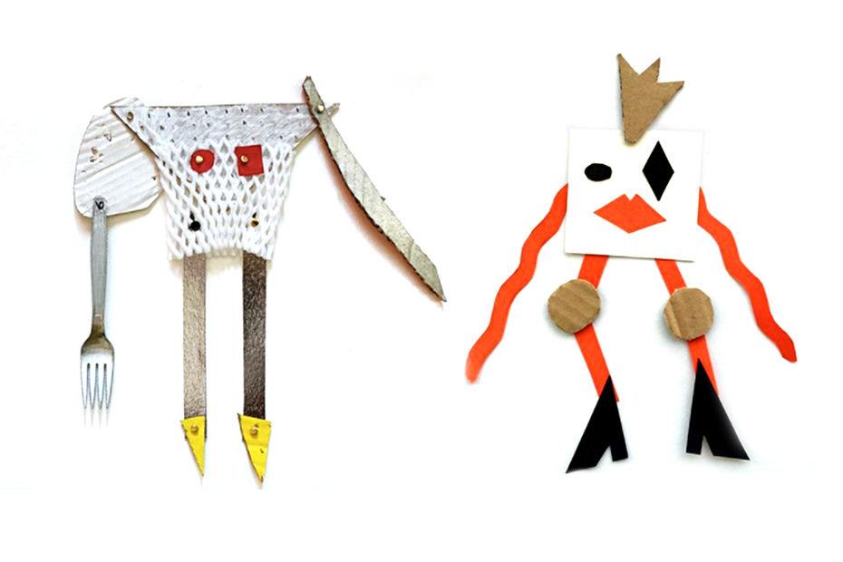 Ресайкл-арт, мультфильм про жирафа и работа с трехмерным изображением: чем занимаются студенты Детской Школы дизайна