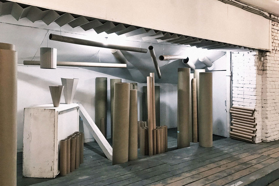 Инсталляция «Экологический форум», Александра Кузнецова, галерея «Пересветов переулок», 2020