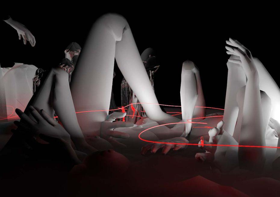 «Феминистскийад», студентка Екатерина Мордвинкина, профиль «Дизайн исовременное искусство»