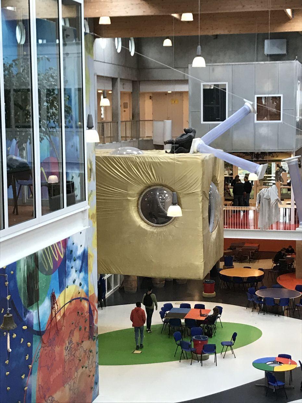 Образовательные пространства школы Агора вНидерландах. Лаборатория дизайна ВШЭ