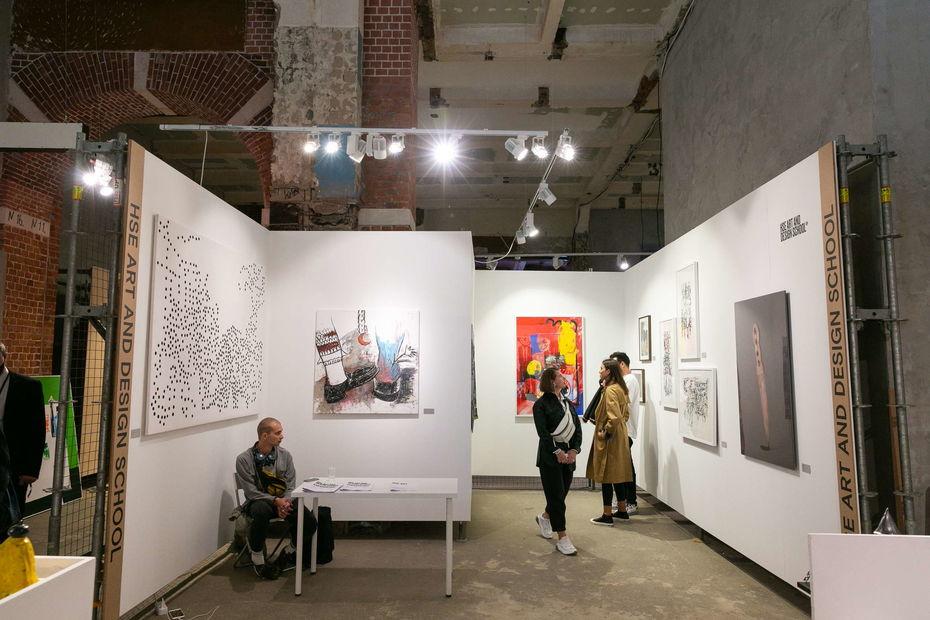 Конкурс для студентов Школы дизайна на участие в ярмарке современного молодого искусства Blazar