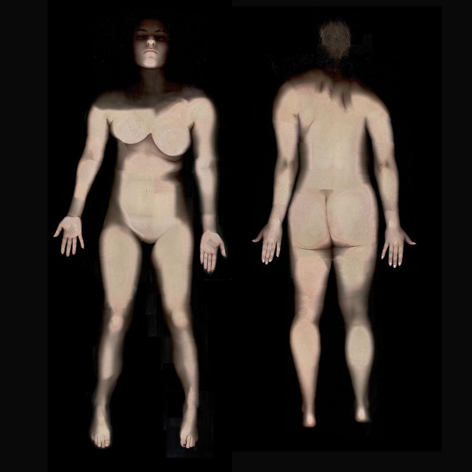 Анастасия Глушкова— «Виртуальное Тело», фотография