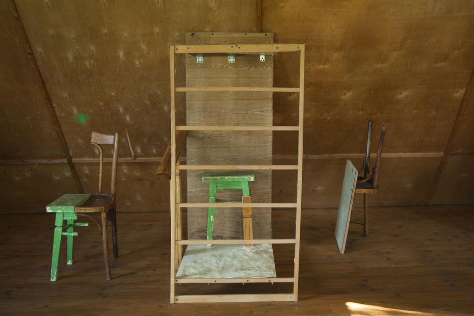Эрнест Саттаров— «Комната. Деконструкция», фрагмент инсталляции