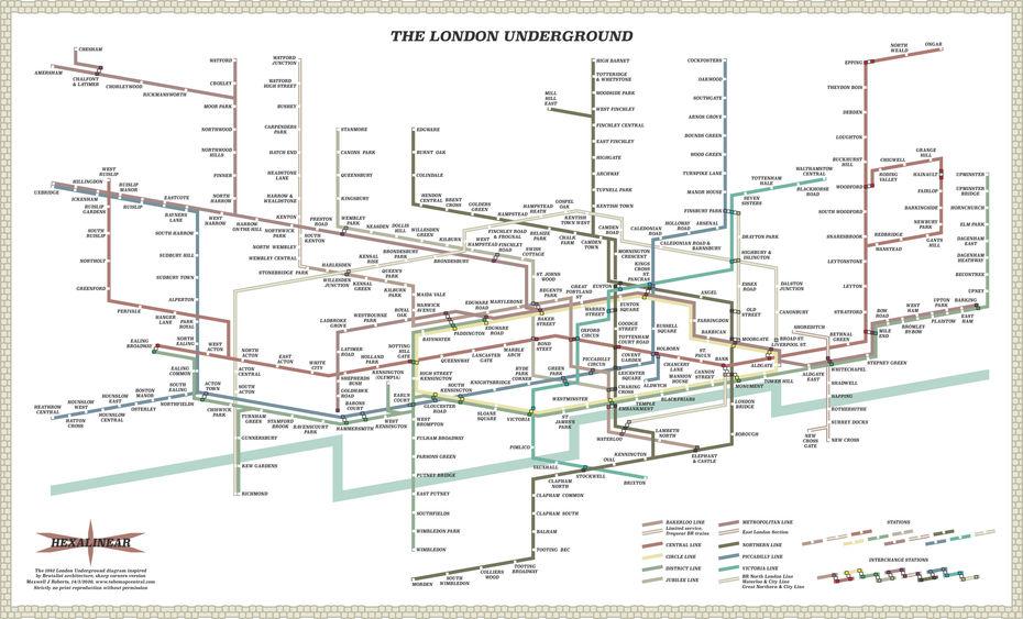 Карта встиле брутализма. Углы вместо скруглений. Изображение: сайт http://www.projectmapping.co.uk/