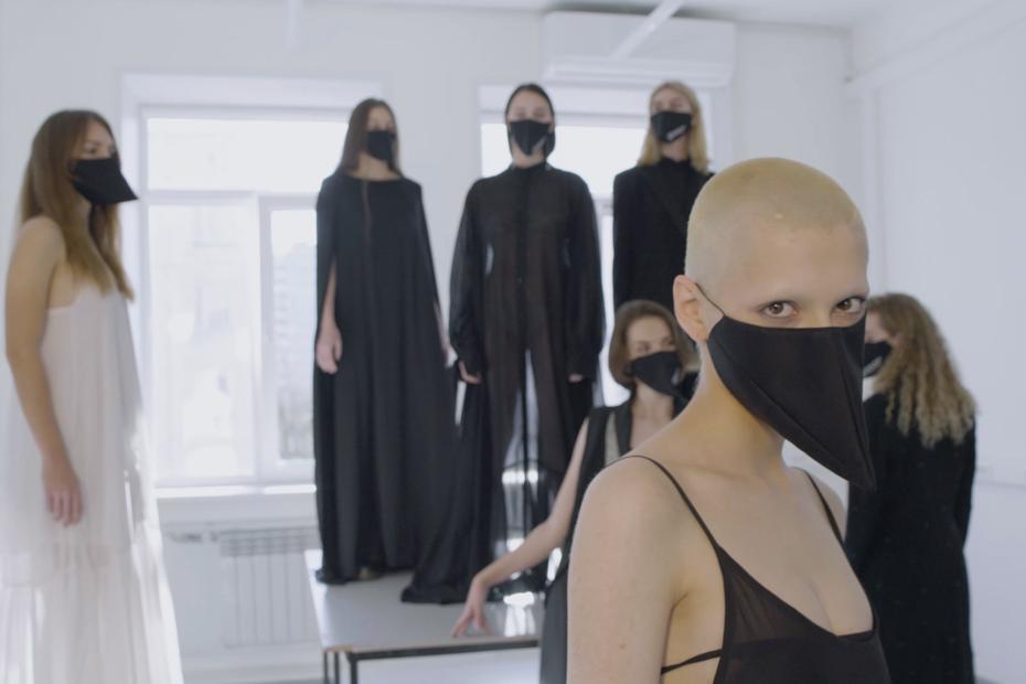 Студенческий показ HARD 008на Mercedes-Benz Fashion Week Russia