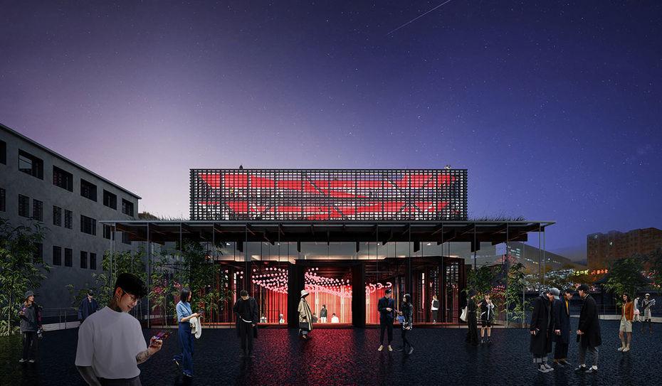 Иммерсивный театр имузей, Кайфэн. Проект IND architects