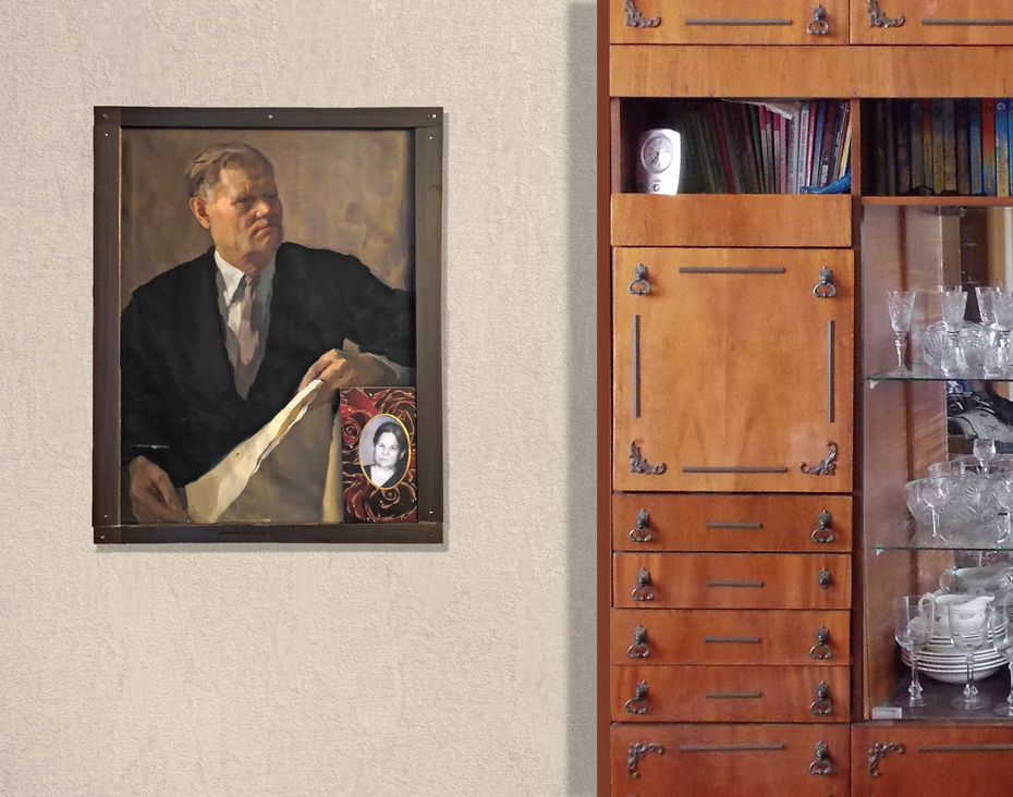 «Орден Ленина», фотопечать. Снимок изквартиры жительницы дома 23Галины Ивановны